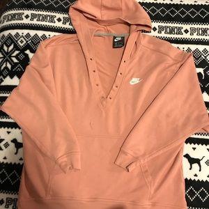 Nike hoodie. Oversized medium